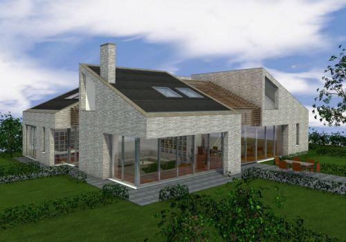 Studieproject duurzame villa