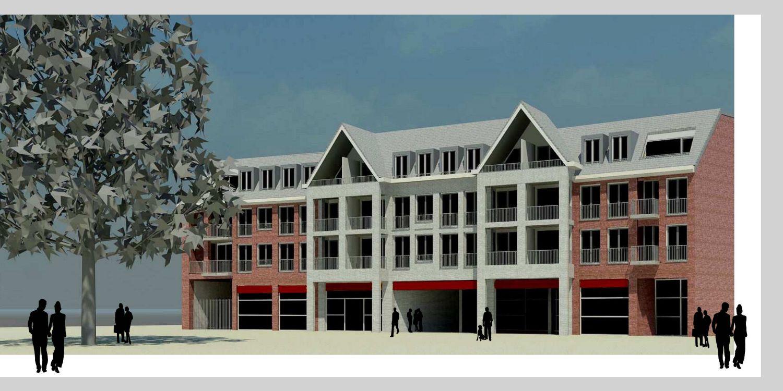 Centrumproject Helmond-Stiphout (winkel en bovenwoningen)
