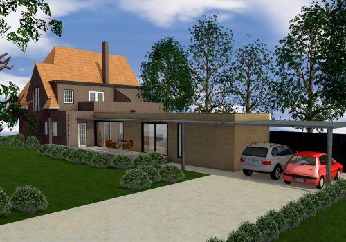 Uitbreiding klassieke woning in Helmond