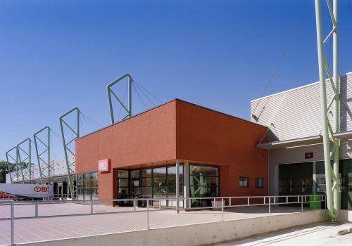 Distributiecentrum TNT te Eindhoven