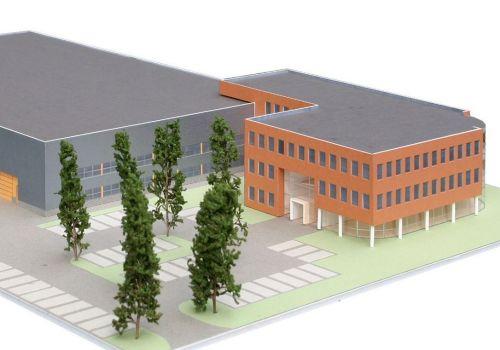 Bedrijfsgebouw Heuvelman te Culemborg