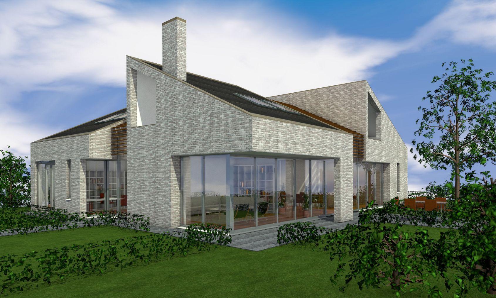 Villa-ontwerp (niet gerealiseerd)