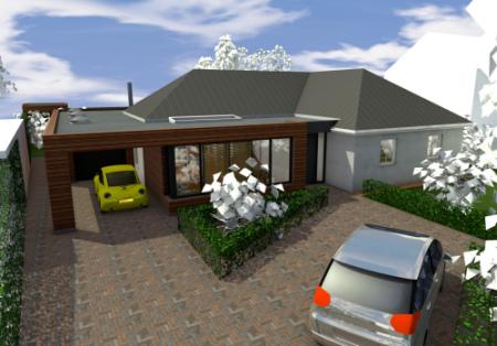 Uitbreiding bungalow Helmond-Stiphout