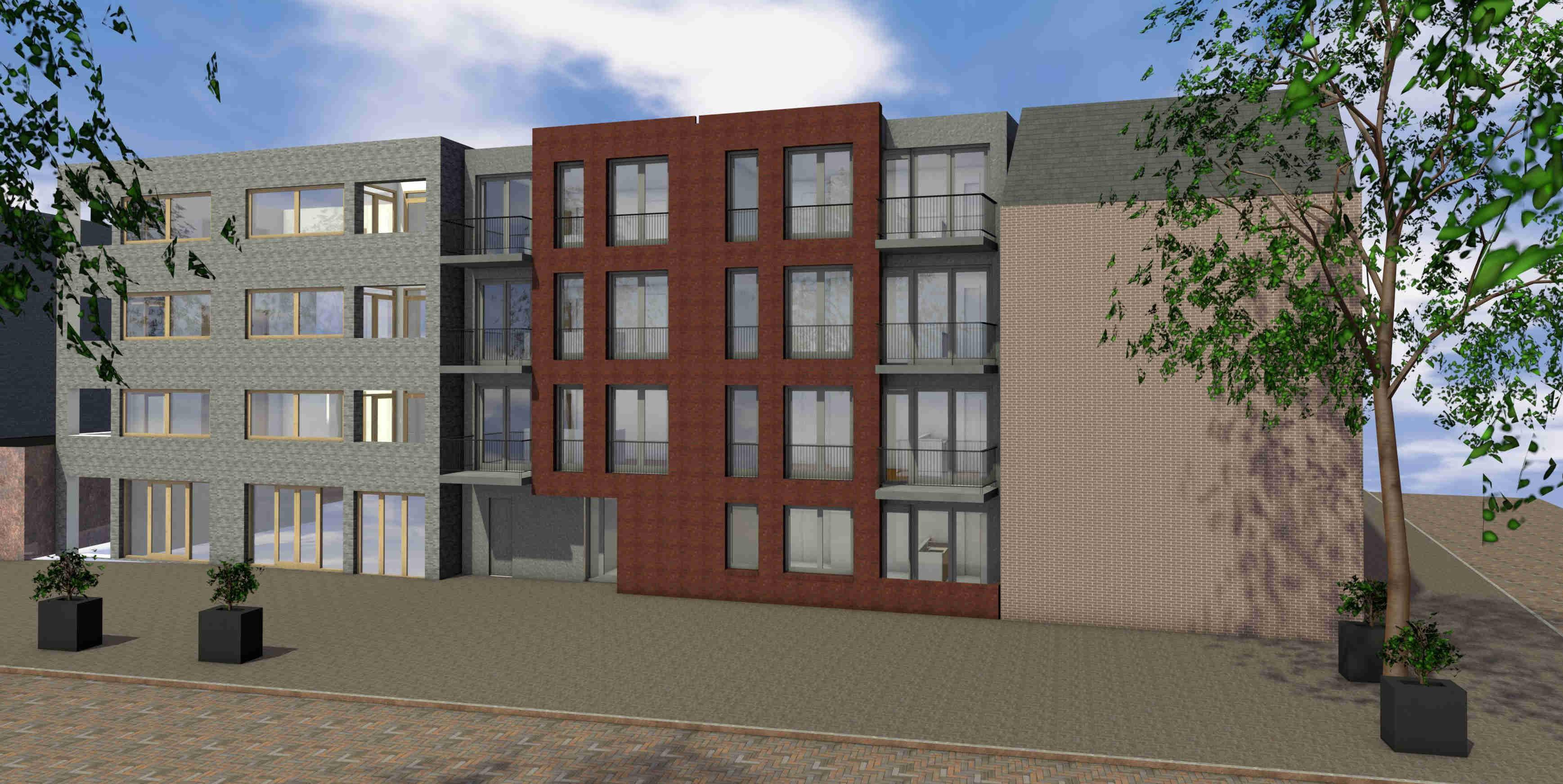 Nieuwbouw 7 appartementen Centrum Helmond
