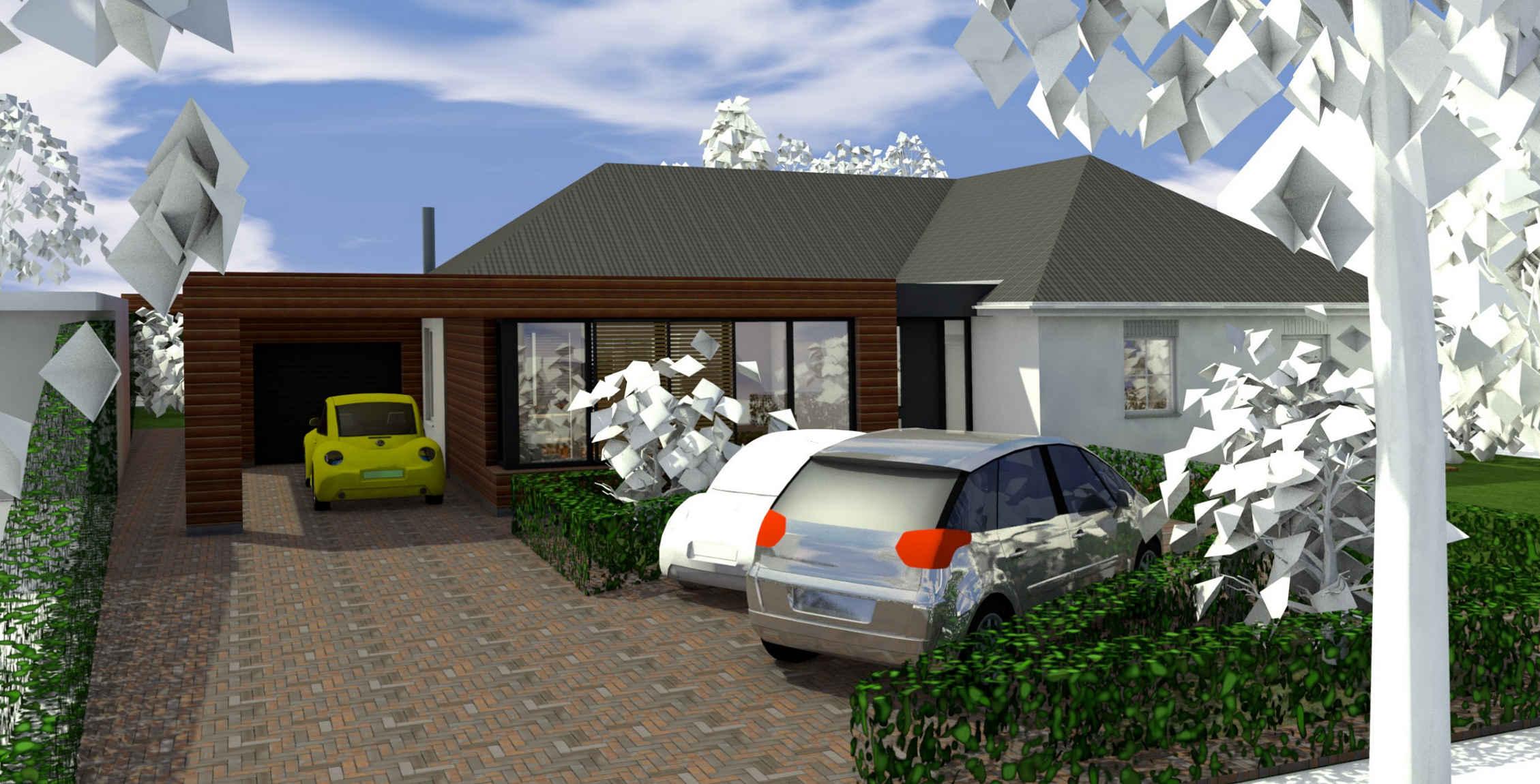 Uitbreiding bungalow te Helmond-Stiphout